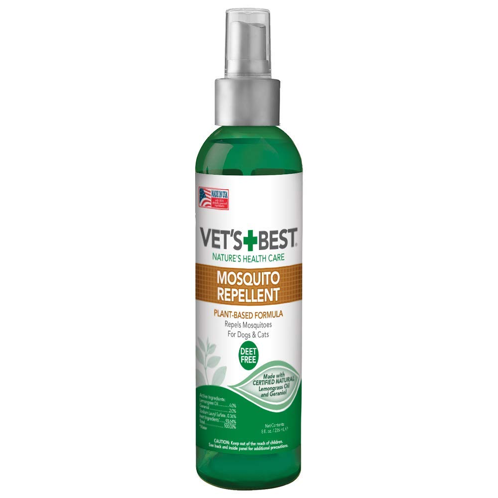 Vet's Best Mosquito Repellent Spray for Dogs & Cats