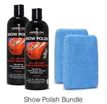 Aerolon Car Show Polish, Liquid Wax, The Ultimate Car Wax Shine with Polymer Paint Sealant Protection, 2 Pack Bundle