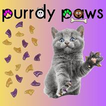 Purrdy Paws Soft Nail Caps for Cat Claws Awesome Combos