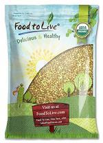 Organic Buckwheat Groats, 8 Pounds - Hulled, Non-GMO, Kosher, Raw, Vegan, Bulk