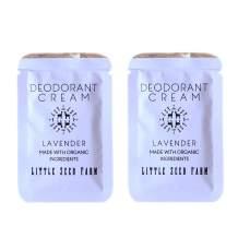 Little Seed Farm - Deodorant Cream Samples, 2 Pack - Lavender