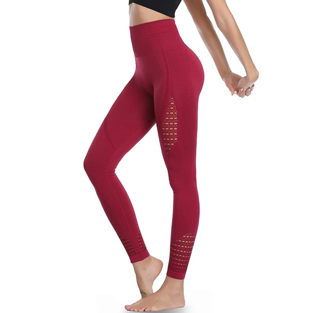 Picotee Women's Yoga Pants Workout Leggings Seamless Running Exercise Active Athletic Gym Tights High Waist