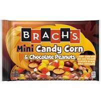 Brach's Mini Candy Corn & Sea Salt Chocolate Peanuts, 8 Ounce, 12 Count