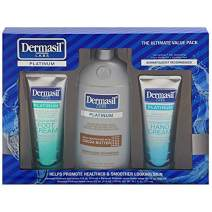 Dermasil Dry Skin Gift Set | Dry Skins Moisturizing GIFT BOXED SET Body Lotion & Face Protection for Soothing & Softens | Dermatologists Recommended Treatment Pump Cap Bottle (Cocoa Butter Set)