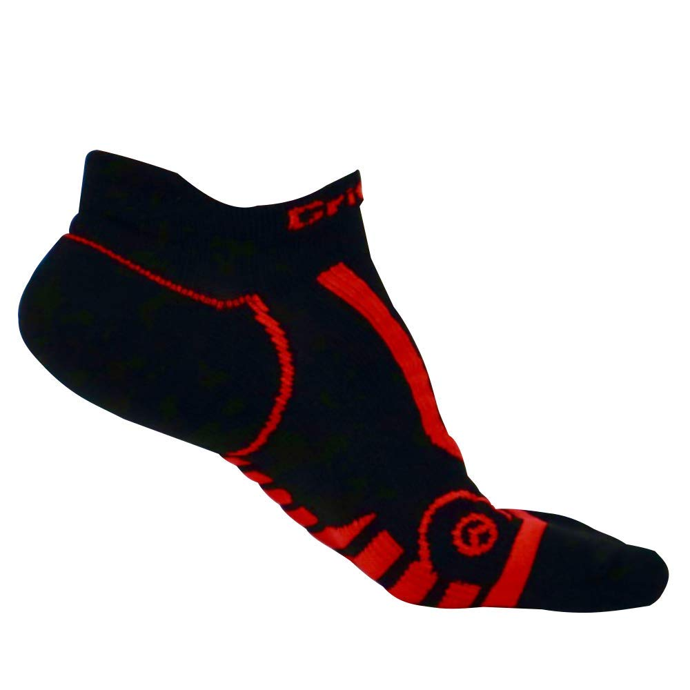 Premium Low Cut No Show Athletic Socks - Unisex Running, Workout, CrossFit - 2 Pair Per Pack
