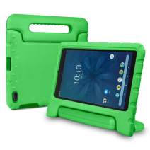 bolete Walmart Onn 8 Inch Tablet Case ONA19TB002 Tablet Case, Shockproof Lightweight Sturdy Convertible Handle Stand Kids Case for Onn Tablet 8 Inch 2019 Release - Green