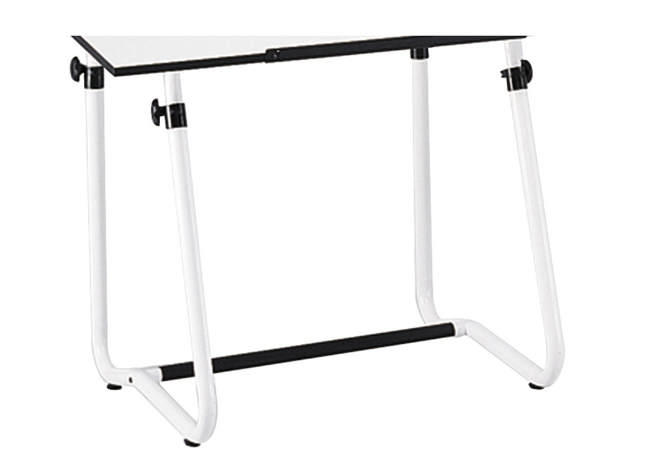Safco Products Vista Drawing Table Base for use with 3951 Table Top, sold separately, White