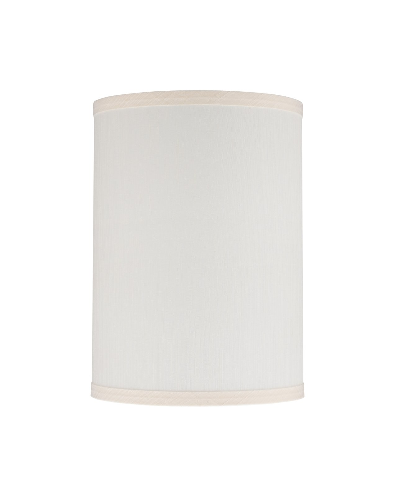 """Aspen Creative 31025 Transitional Hardback Drum (Cylinder) Shape Spider Construction Lamp Shade in Eggshell, 8"""" wide (8"""" x 8"""" x 11"""")"""
