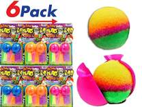 JA-RU Make a Bouncy Ball - Create Your Own Crystal Super Balls Craft Kit for Kids (6 Units) Mad Lab DIY Power Crystal Balls. Great Party Favors Pack in Bulk Toys. Plus 1 Bouncy Ball. 5431-6p
