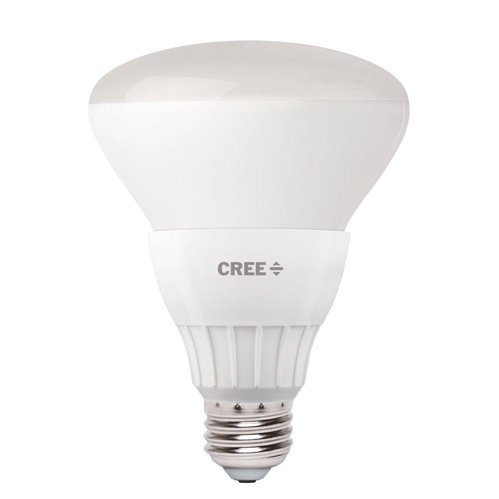 Cree 65W Equivalent Daylight (5000K) BR30 LED Flood Light Bulb (4-pack)