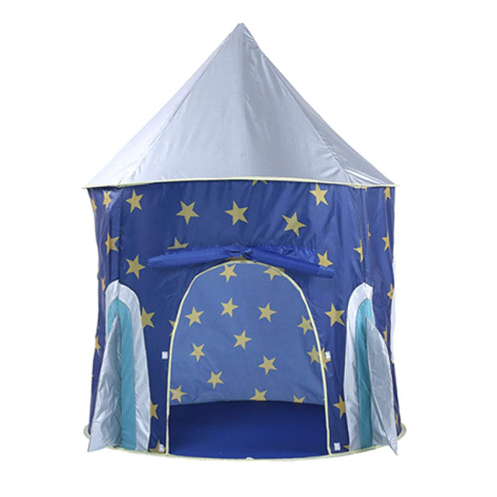 KIDDYCOLOR Tent for Boys or Girls – Astronaut Space Tents, Rocket Ship Play Tent Playhouse, Imaginative Games & Gift, Foldable Playhouse Toy with Carry Bag for Boys & Girls