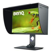 BenQ SW270C PhotoVue 27 Inch QHD 1440P IPS Photo Editing Monitor | HDR, 99% Adobe RGB, sRGB, REC 709 | AQcolor Technology for Accurate Reproduction, Black