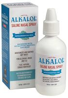 Alkalol Solution Saline Nasal Spray, 1.69 Ounce