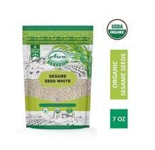 Aiva Organic Sesame Seeds 7 Ounce USDA certified, Salad Topper