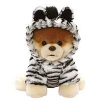 "GUND World's Cutest Dog Boo Zebra Outfit Plush Stuffed Animal 9"", Multicolor (4061293)"