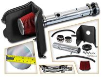 Cold Air Intake System with Heat Shield Kit + Filter Combo RED Compatible For 05-11 Toyota Tacoma 4.0L V6