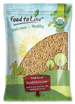 Organic Pearl Barley, 6 Pounds - Hulled, Non-GMO, Kosher, Raw, Vegan