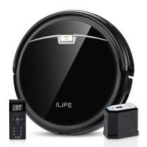 ILIFE A4s Pro Robot Vacuum, 2000Pa Max Suction, ElectroWall, Remote Control, Slim, Thin, Quiet, Self-Charging, Smart, Ideal for Hard Floor to Medium-Pile Carpets