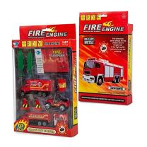 Big Daddy Fire Rescue Toy Play Set Starter Kit Includes More Than 10 Fire Truck Toys and Accessories to Create The Perfect Emergency Scene