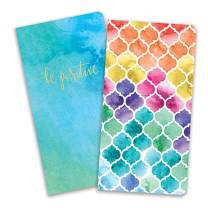 Paper House Productions JBB0009 Watercolor Journey Book Insert Set for Standard Size Traveler's Notebook Dot Grid