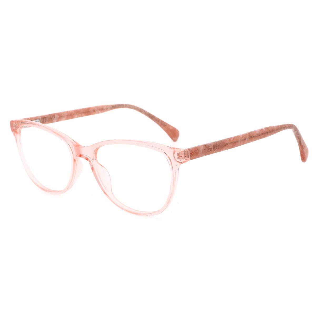O-Q CLUB Anti Blue Light Computer Glasses Stylish Spring Hinge Video Gaming Glasses Reduce Eye Fatigue