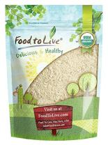 Food to Live Organic Millet Flour (Non-GMO, Stone Ground, Unbleached, Unbromated, Raw, Vegan, Bulk, Product of the USA) — 2 Pounds