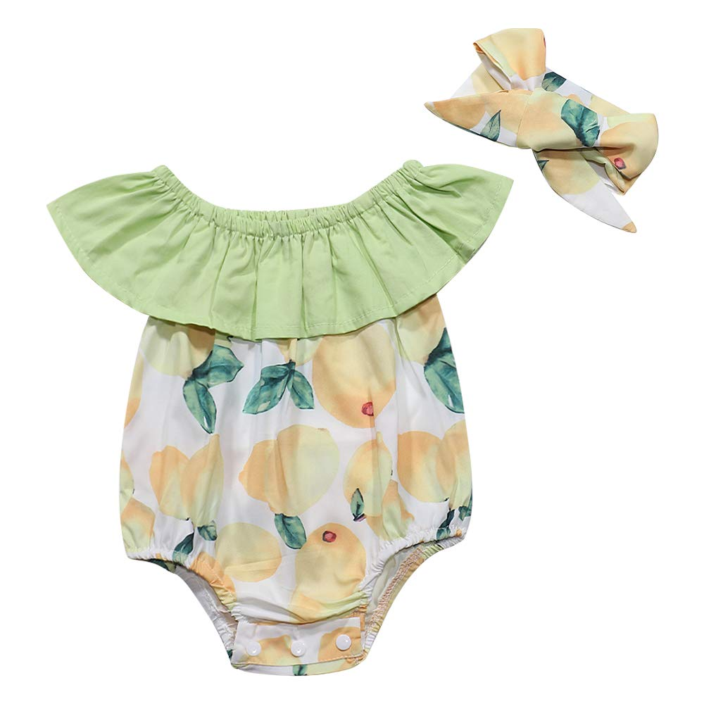 itkidboy 6M-4T Toddler Kids Baby Girls Self Tie Sleeveless Feather Print Short Romper Jumpsuit