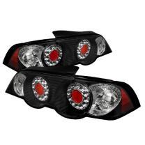Spyder Acura RSX 02-04 Altezza LED Tail Lights - Black