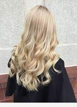 Hetto Blonde Highlighted with #27 Strawberry Blonde Mono Hairpiece Real Remy Hair Size 13x13cm Clip in Toppers for Women Hidden Seamless Hair Topper