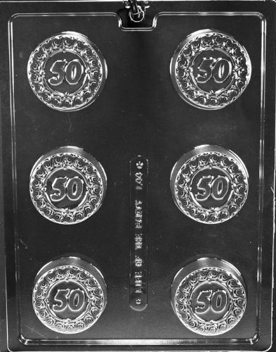 Cybrtrayd L044 Chocolate Candy Mold, One Size, Clear