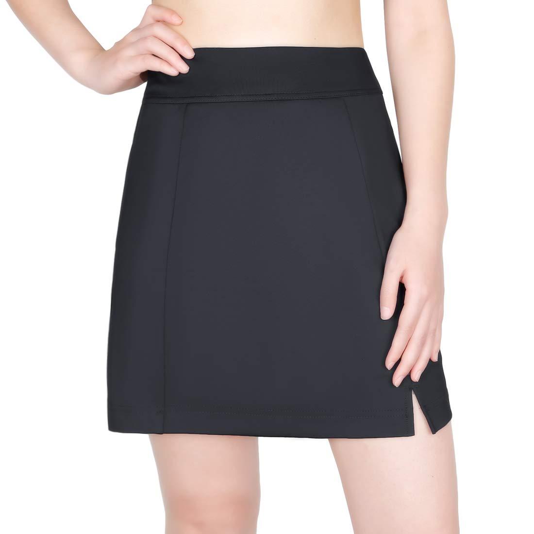 Lesmart Women's Tennis Skorts Lightweight Athletic Skirts Short with Pocket Golf Sports Workout Skorts