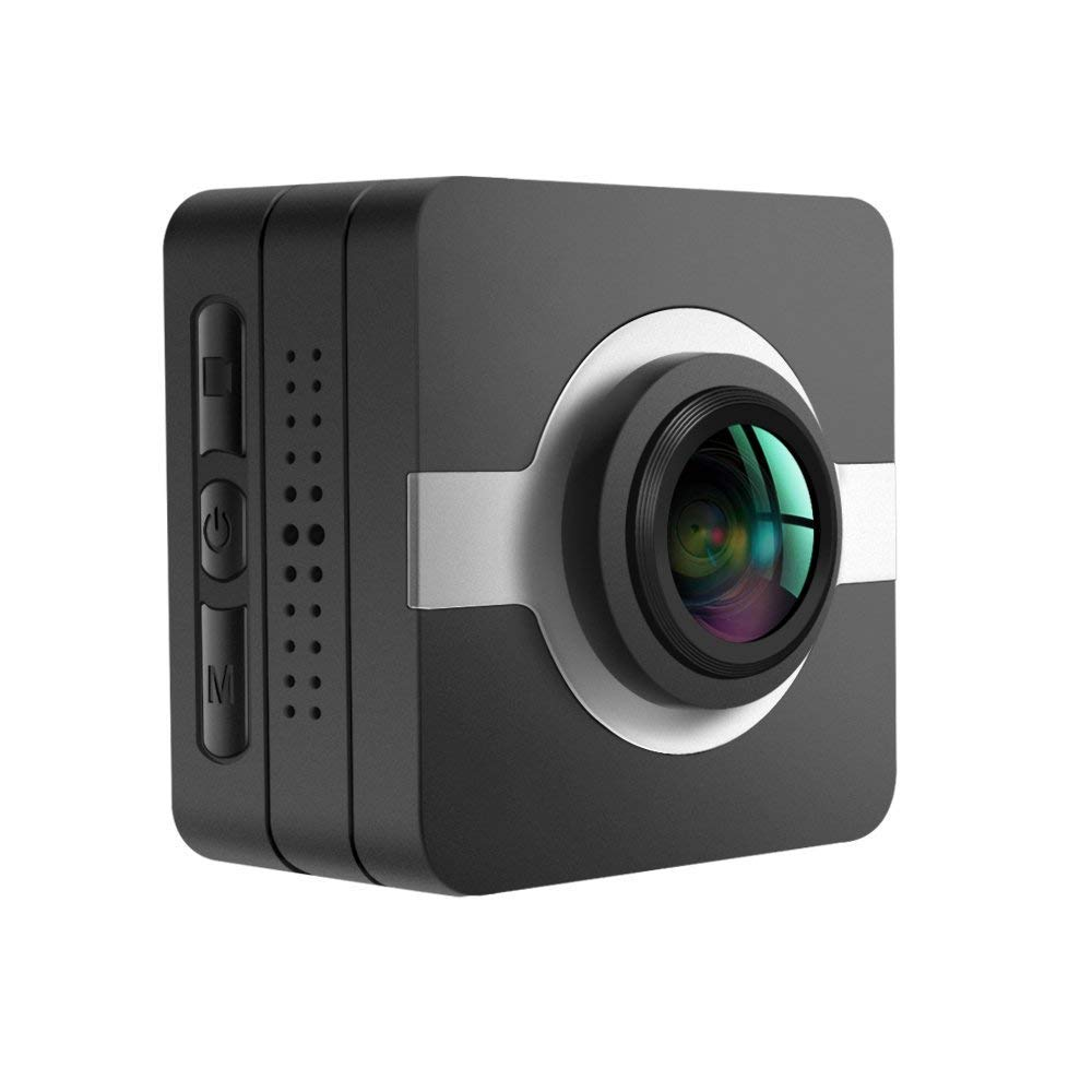 MATECam Action Camera X1 4K Waterproof WiFi Mini Sports Camera Ultra HD Helmet Bicycle Video Camera 16MP Image Stabilization Remote Control