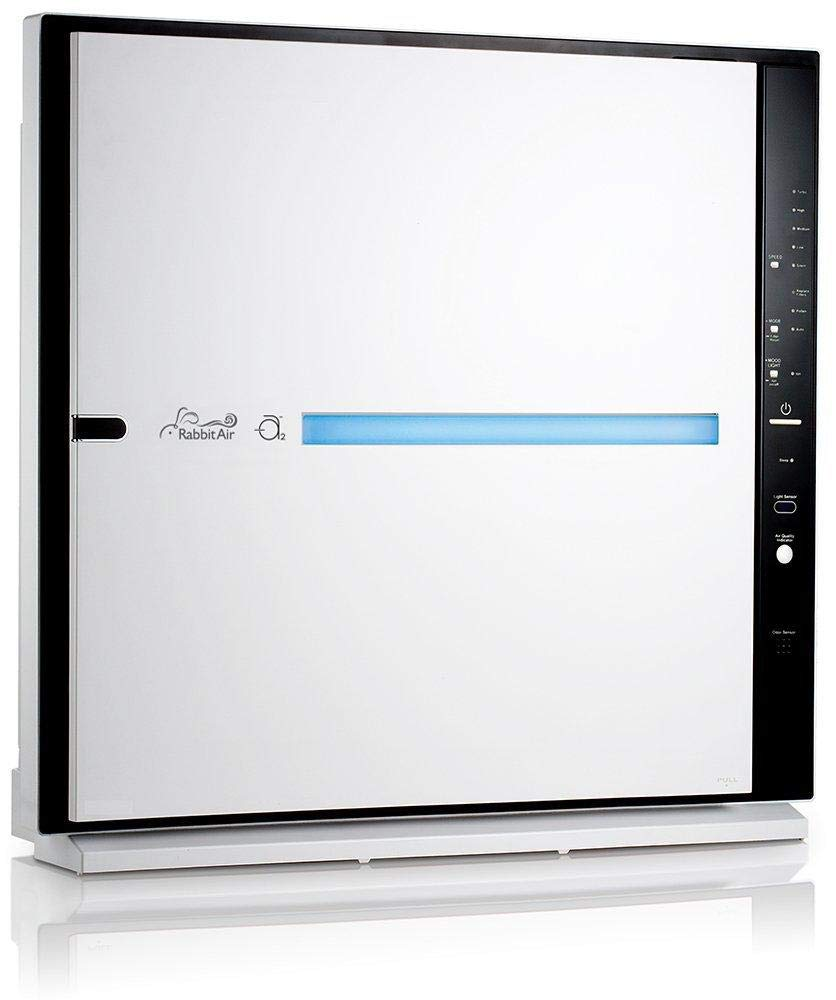 RabbitAir MinusA2 Ultra Quiet HEPA Air Purifier - Stylish, Efficient and Energy Star (SPA-780A, White, Odor Remover)