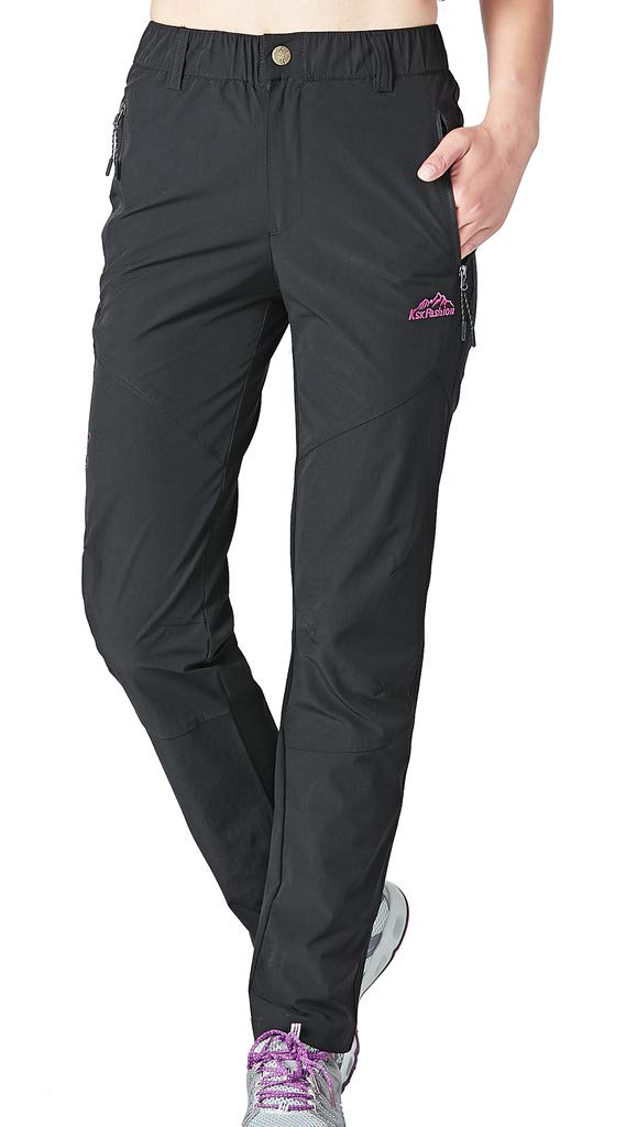 Aufgevals Women's Spring Outdoor Breathable Quick Dry Stretch Hiking Pants