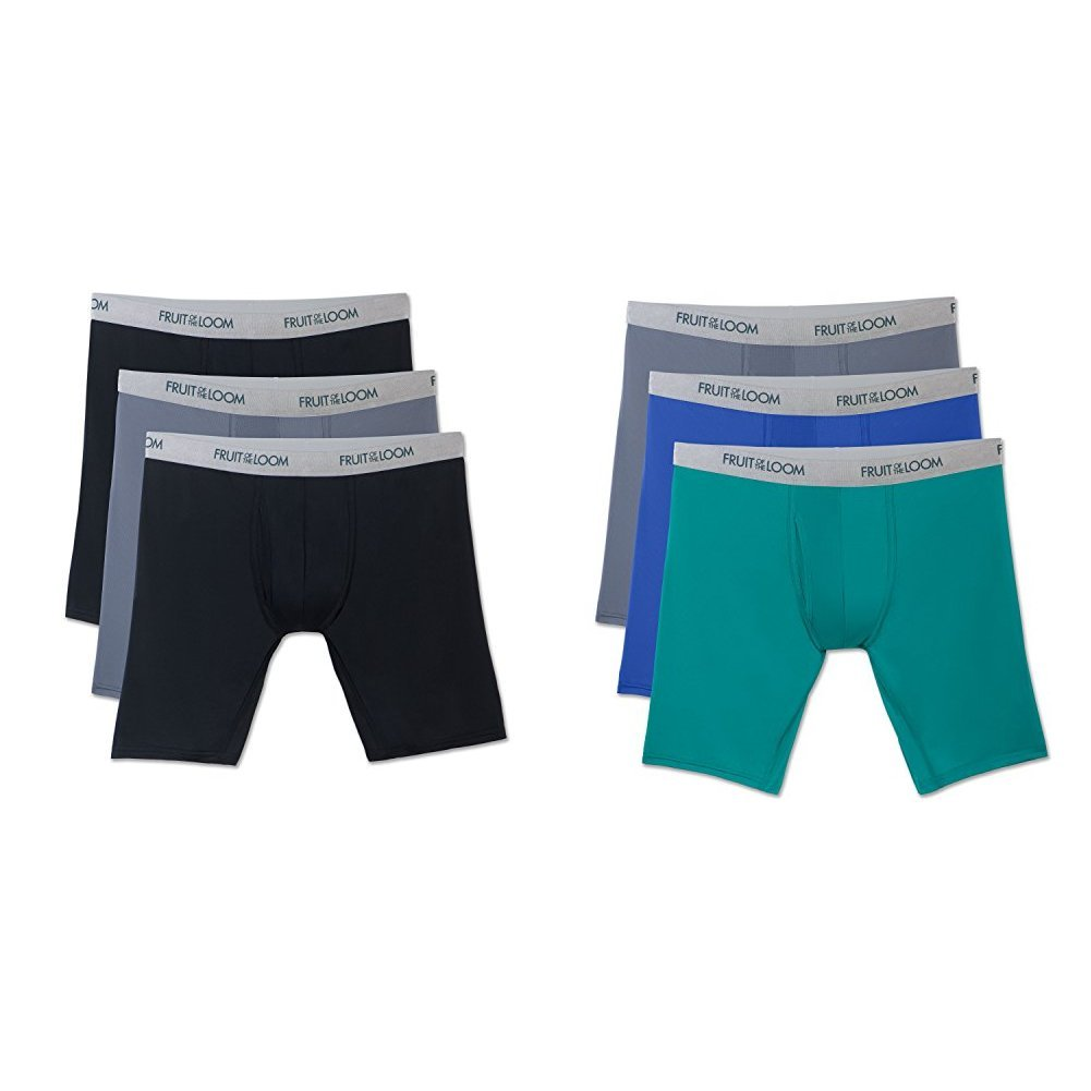 Fruit of the Loom Mens Everlight Underwear /& Undershirts with 4-Way Stretch
