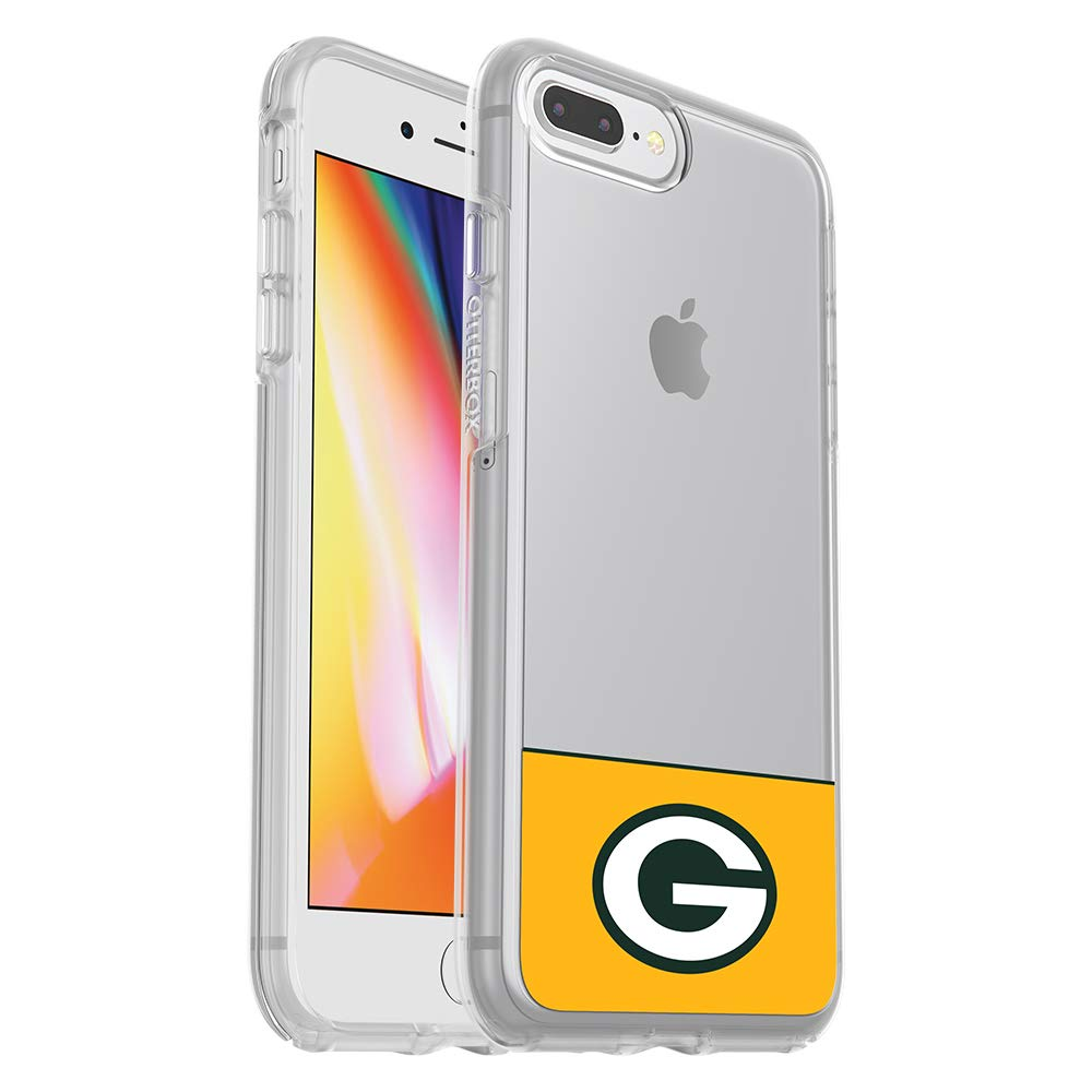 OtterBox NFL SYMMETRY SERIES Case for iPhone 8 Plus & 7 Plus (ONLY) - Retail Packaging - PACKERS