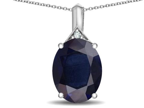 Star K Expressions Large 12x10mm Oval Genuine Amethyst Pendant Necklace 10kt Gold