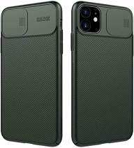 Nillkin iPhone 11 Pro Case, CamShield Series Case with Slide Camera Cover, Slim Stylish Protective case for iPhone 11 Pro 5.8 inch (2019) - Dark Green