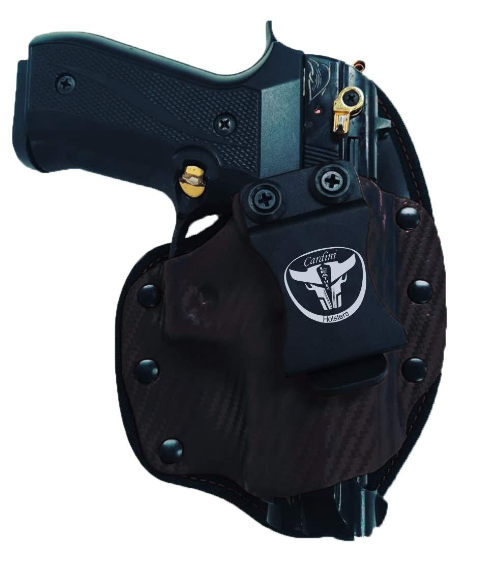 Cardini Leather USA – for Glock 17, 19, 23 – Cáscara Series Hybrid Holster