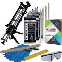 Concrete Floor Crack Repair Kit - Ultra Low Viscosity Polymer - FLEXKIT-1200-30