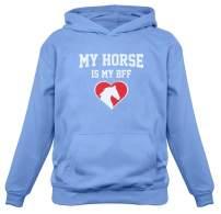 TeeStars - My Horse is My BFF Gift for Horse Lovers Women Hoodie