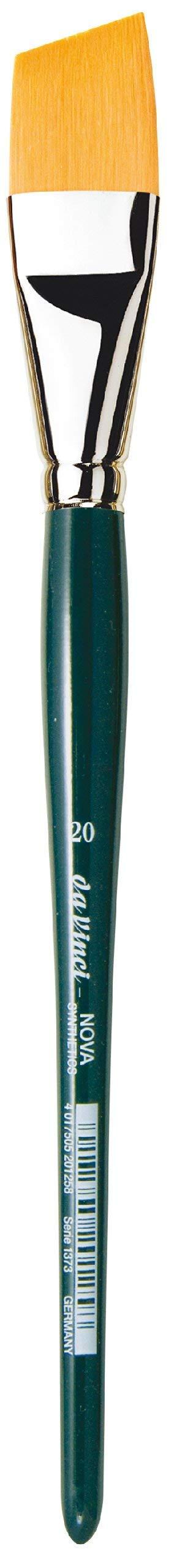 da Vinci Nova Series 1373 Paint Brush, Slanting Edge Synthetic, Size 20