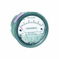 "Dwyer Capsuhelic Series 4000 Differential Pressure Gauge, Range 0-15""WC"