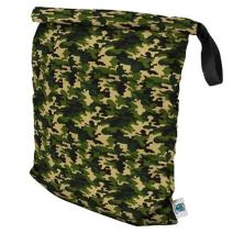 Planet Wise Roll Down Wet Diaper Bag, Camo, Large