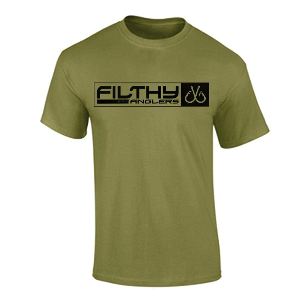 Filthy Anglers Men's Fishing T-Shirt American Military Flag - Multiple Colors