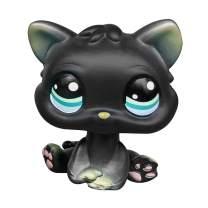 LPSCB Custom-Made Baby for Short Hair Cat #994 1 Inch Black Kitten Mini Pet Shop Toys Kitty