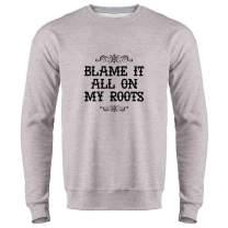 Pop Threads Country Music Western Wear Style Cowgirl Cowboy Crewneck Sweatshirt for Men