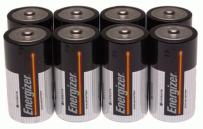 Energizer MAX C Alkaline Batteries, 8-Count