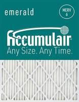 Accumulair FC28X30_4 MERV 6 Rating Air Filter/Furnace Filters, 28x30x1 (27.5 x 29.5) - 4 pack