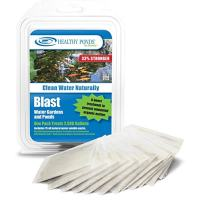 Healthy Ponds 60009 Blast Pond Water Cleaner, 15 Water Soluble Packets; Each Packet Treats up to 2,500 Gallons